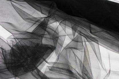 Tüll schwarz - 10-028-046