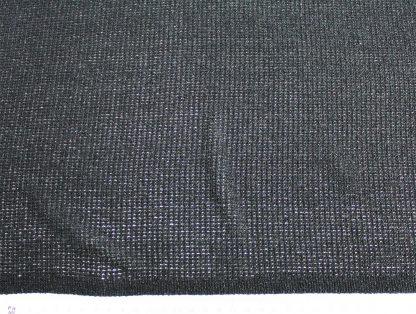 Elastischer Strickstoff schwarz - 15-007-046