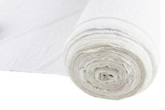 Jerseystoff gemustert weiß - 15-018-001