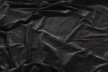 Elastischer Samt schwarz - 18-002-046