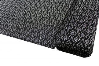 Tüllspitze elastisch schwarz/ecrue - 30-001-203