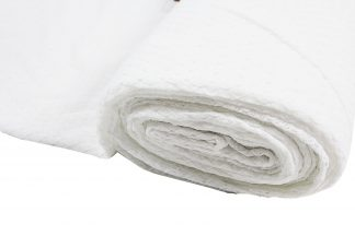 Spitzenstoff elastisch weiß - 31-016-001