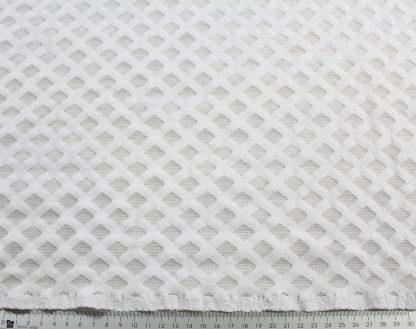 Spitzenstoff elastisch weiß - 31-019-001