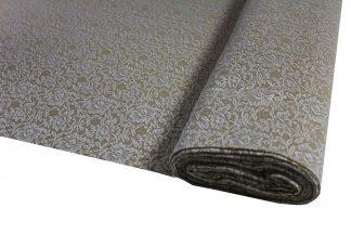 Spitzenstoff elastisch weiß/beige - 31-020-316