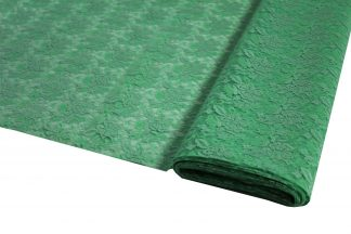Spitzenstoff geblümt grün - 40-008-010