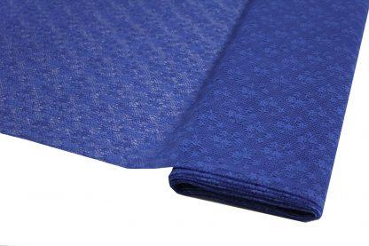 Spitzenstoff geblümt royalblau- 40-022-039