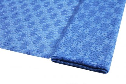 Spitzenstoff geblümt blau 40-040-037