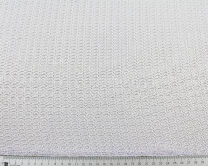Extravaganter Netztüll weiß - 42-025-001