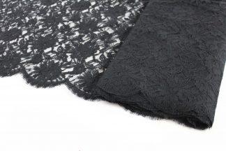 Galon aus Webspitze schwarz - 46-005-046
