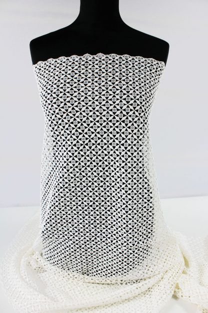 Spachtelspitze mit kleiner Bogenkante champagner - 51-079-003
