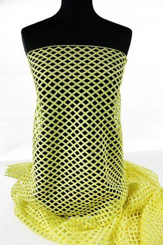 Extravagante Spachtel Spitze gelb - 51-097-004