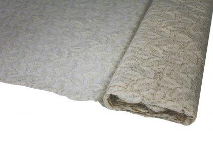 Schöne Stickerei auf Baumwoll Tüll - 52-001-003