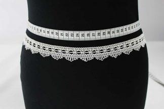 Spitzenband Häkelband - ecrue - 80-021-003