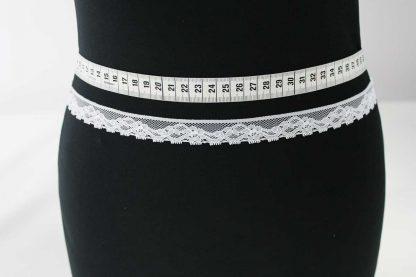 Klöppel Spitze Band - weiß - 80-072-001