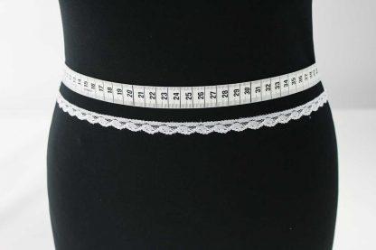 Spitzenband - weiß - 80-074-001