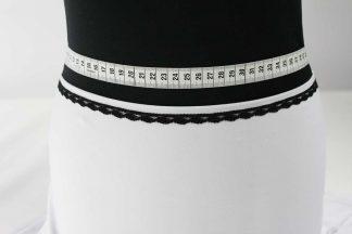 Spitzenborte - schwarz - 80-074-046