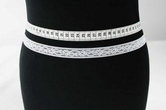 Spitzenband - weiß - 80-077-001