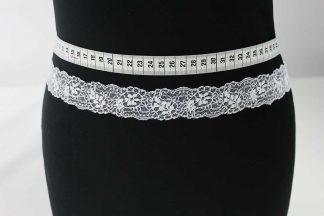 Spitzenband - weiß - 80-080-001