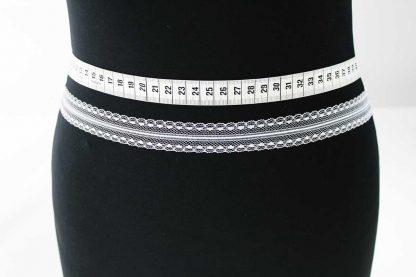 Spitzenband - weiß - 80-081-001