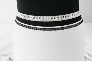 Spitzenbordüre - schwarz - 80-087-046