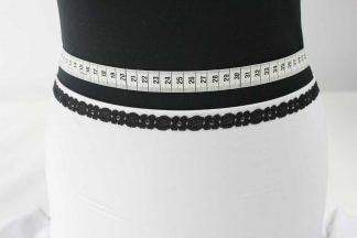 Spitzenbordüre - schwarz - 80-088-046