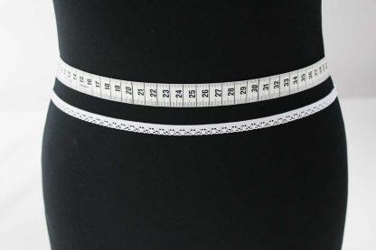Spitzenborte elastisch, Stretch Spitze - weiß - 80-099-001