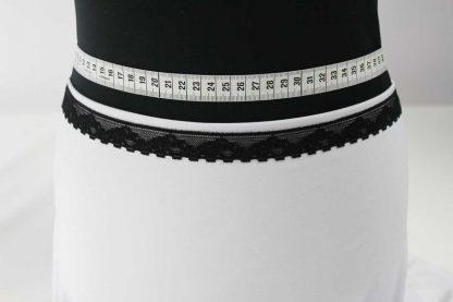 Spitzenborte elastisch, Stretch Spitze - schwarz - 80-103-046