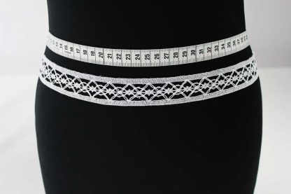Klöppelborte Baumwolle - weiß - 81-006-001