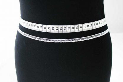 Zarte Valiencienne Spitzenborte - Spitzenband - Klöppelspitze - weiß - 81-012-001