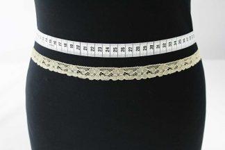 Klöppelborte Baumwolle - beige - 81-062-016