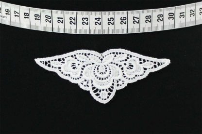 Spitzenmotiv - weiß - 91-035-001