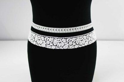 Brautkleider Spitzenborte - weiß - 91-059-001