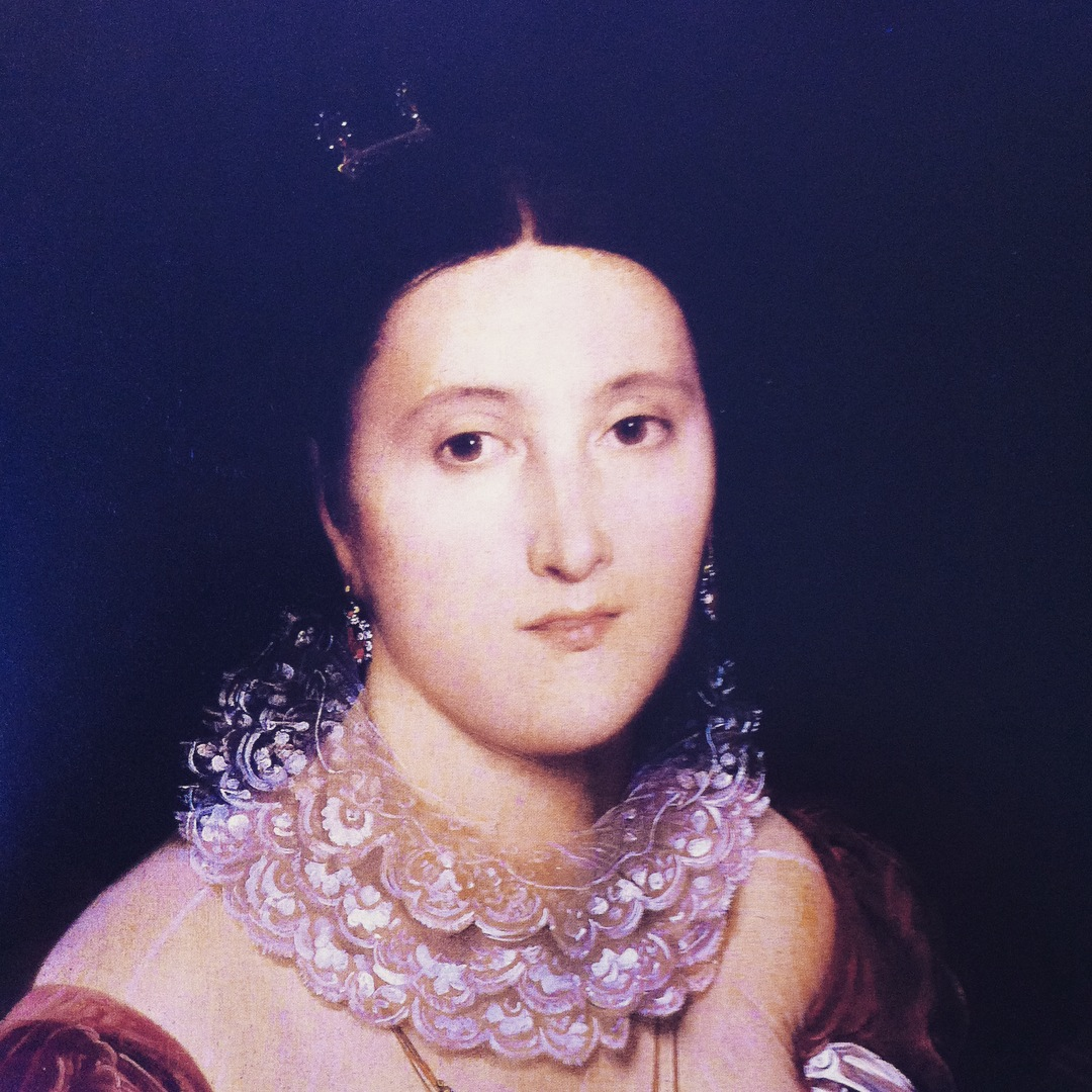 Spitzenstoff Madame de Sénonnes 1806